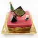 クリスマスケーキ クリスマスカラーなケーキ