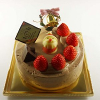 クリスマスケーキの生クリームとチョコ生クリームが終了しました。