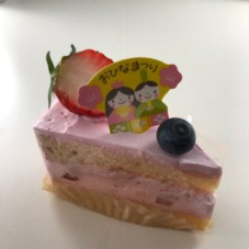 明日から3月3日まで、一部のケーキがひなまつり仕様になります。