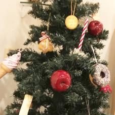 お菓子のツリー