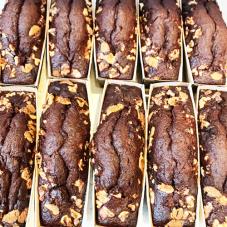 チョコレートと胡桃のパウンドケーキ