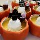 ハロウィーンプリン  かぼちゃプリン&メープルシロップ