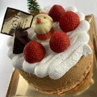 クリスマスケーキ もうじきご紹介します。今日は一部ご紹介。