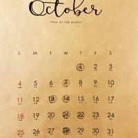 10月になりました。本日10月1日(木)定休日をいただいております。