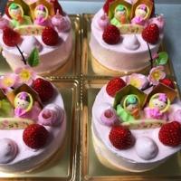 ひな祭りケーキ 2月19日(金)より受付開始します