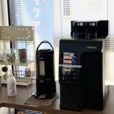 県央店のセルフコーヒー サービスドリンクです。
