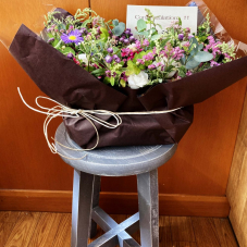 花が届いて